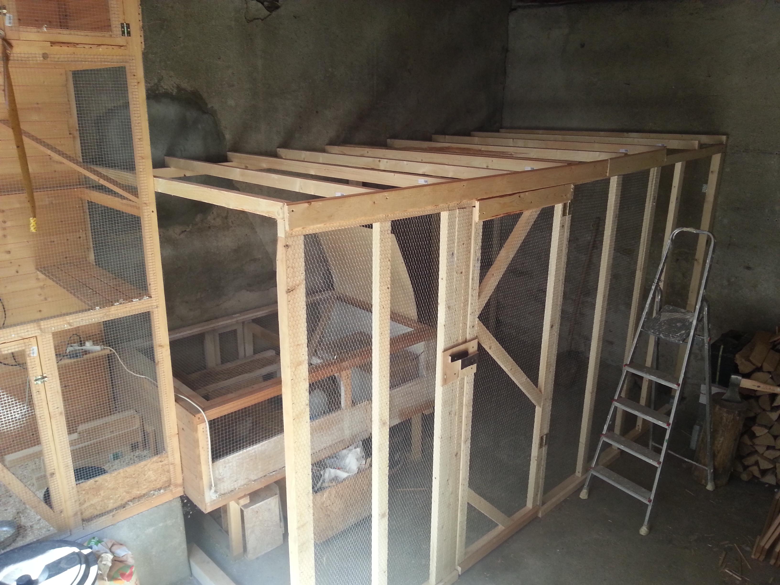 ein gr erer wachtelstall semiautark. Black Bedroom Furniture Sets. Home Design Ideas